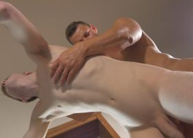 Bareback Bunk Inspection and Face Piss