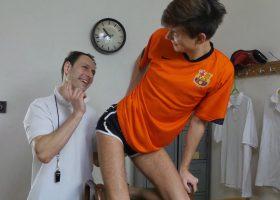 Coach Victor Barebacks Young Yuri