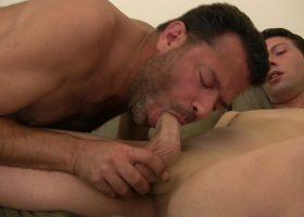 Daddy Barebacks and Breeds Young Nick