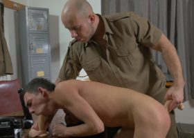 Daddy Barebacks Young Oscar