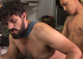 Simon and Leandro