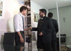 Cedric and Priest Ferdinan