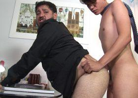 Cedric and Father Ferdinan