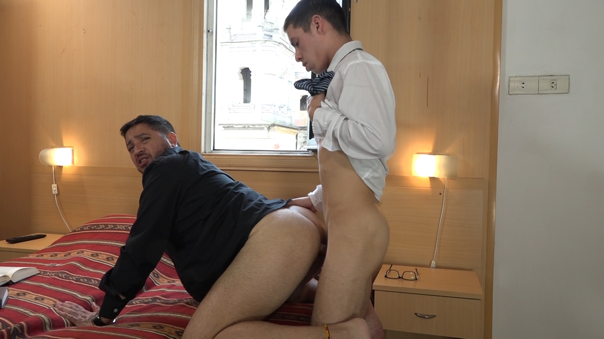 Asian Twink Pissing Threesome