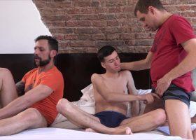 Joris, Andres and Cesar