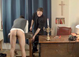 Older Priest Barebacks Young Oscar