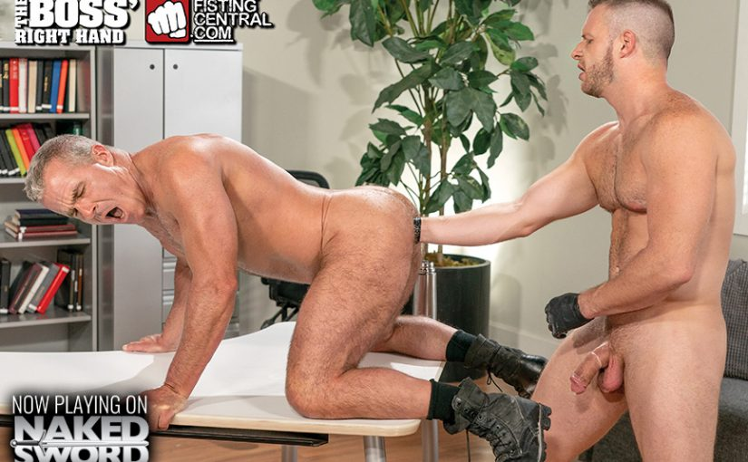 The Boss' Right Hand – Fisting Central/Raging Stallion